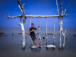 Pantai Semat Salah Satu Wisata Tujuan Berlibur Warga Jepara